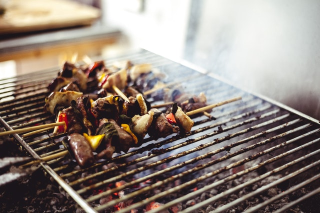 Food Trend Smoke and Fire